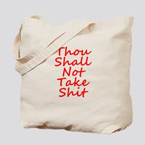 Thou shall not, Tote Bag