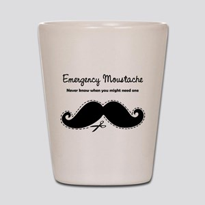 Emercency Moustache Shot Glass