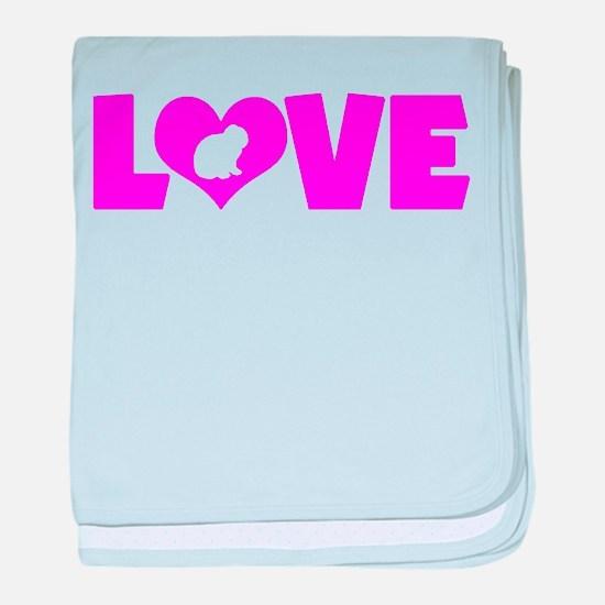 LOVE LOP RABBIT baby blanket