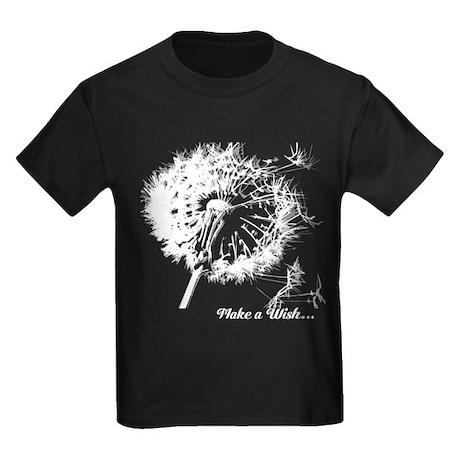 Make a Wsh... Kids Dark T-Shirt