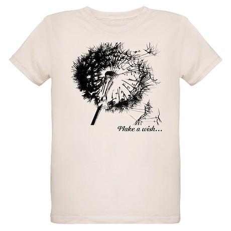 Make a Wsh... Organic Kids T-Shirt