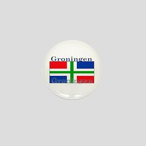 Groningen Gronings Flag Mini Button