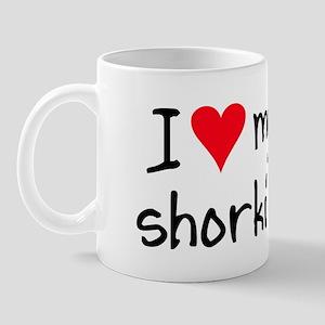 I LOVE MY Shorkie Mug