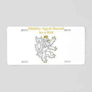 Kilt Broad... Aluminum License Plate