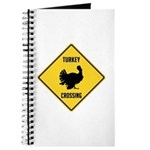 Turkey Crossing Sign Journal