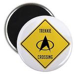 Trekkie Crossing Magnet