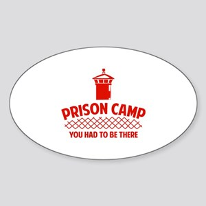 Prison Camp Sticker (Oval)
