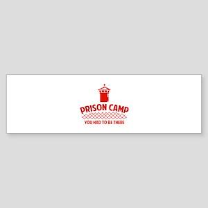 Prison Camp Sticker (Bumper)