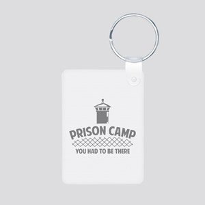 Prison Camp Aluminum Photo Keychain