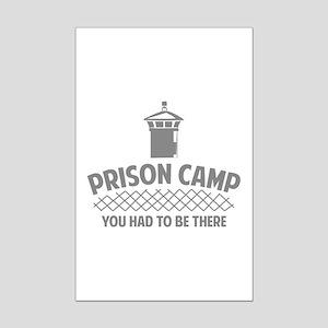 Prison Camp Mini Poster Print