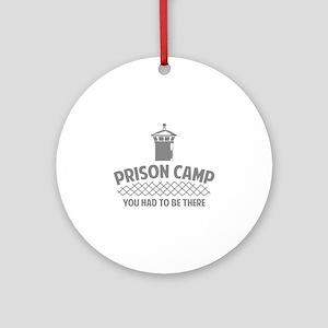 Prison Camp Ornament (Round)