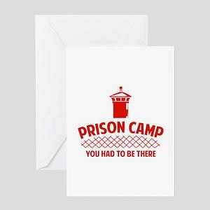 Prison Camp Greeting Card