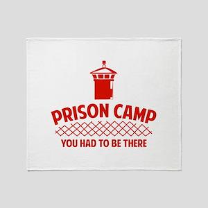 Prison Camp Throw Blanket