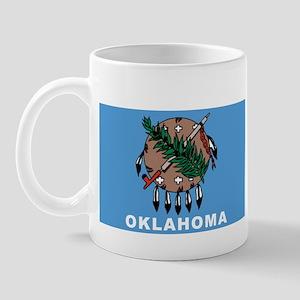 Oklahoma State Flag Mug