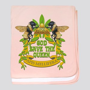 God Save the Queen baby blanket