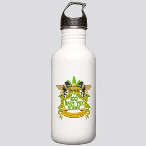 God Save the Queen Stainless Water Bottle 1.0L