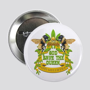 """God Save the Queen 2.25"""" Button"""