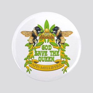 "God Save the Queen 3.5"" Button"