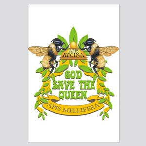 God Save the Queen Large Poster