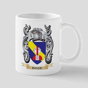 Bande Family Crest - Bande Coat of Arms Mugs
