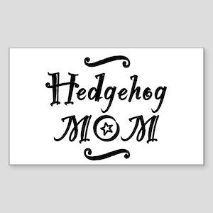 Hedgehog MOM Sticker (Rectangle)
