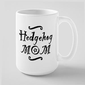 Hedgehog MOM Large Mug