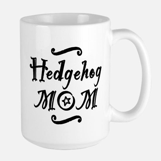 Hedgehog MOM Large Mug