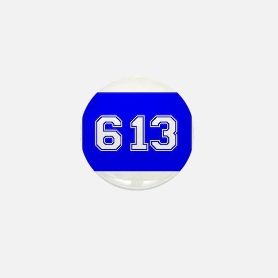 Jewish 613 Mini Button