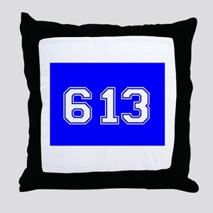 Jewish 613 Throw Pillow
