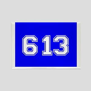 Jewish 613 Rectangle Magnet