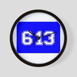 Jewish 613 Wall Clock