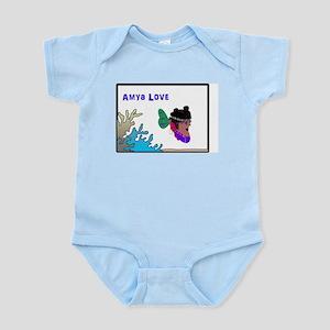 Amya Love! Infant Bodysuit