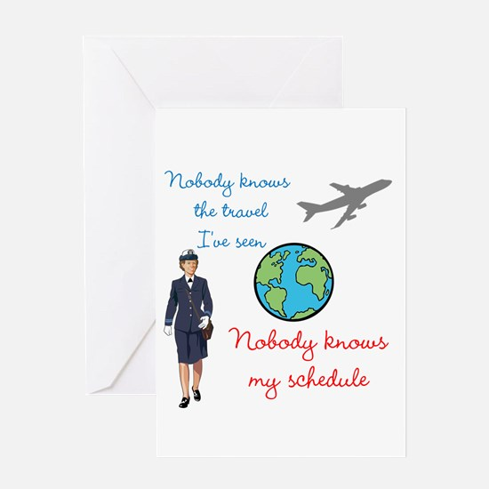 Nobody Knows The Travel I've Seen Greeting Card