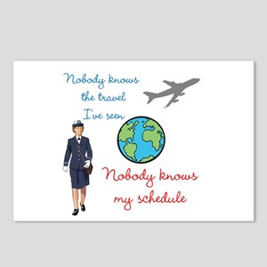 Nobody Knows The Travel I've Seen Postcards (Packa