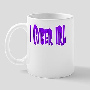 I Cyber IRL Mug