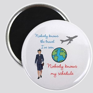 Nobody Knows The Travel I've Seen Magnet