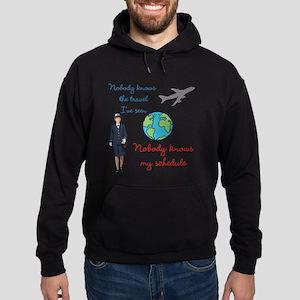 Nobody Knows The Travel I've Seen Hoodie (dark)