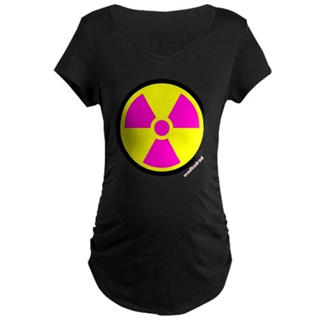 Nuclear numpties Maternity Dark T-Shirt