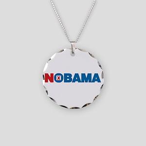 NOBAMA Necklace Circle Charm
