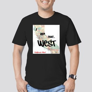I Rep That Men's Fitted T-Shirt (dark)