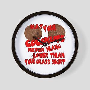 Coconut Bra Wall Clock