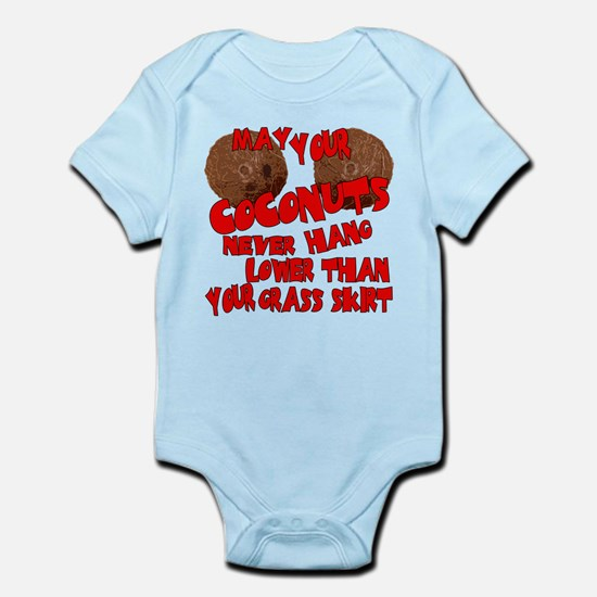Coconut Bra Infant Bodysuit