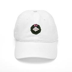 Christmas Wreath Las Vegas Baseball Cap