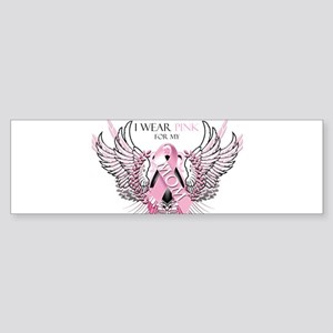 I Wear Pink for my Mom Sticker (Bumper)