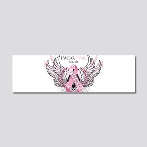 I Wear Pink for my Friend Car Magnet 10 x 3