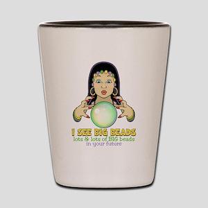 Mardi Gras Gypsy Shot Glass