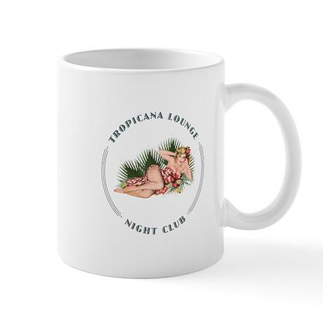 Tropicana Lounge Girl 2 Mug