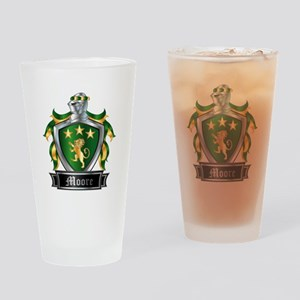 MOORE COAT OF ARMS Drinking Glass