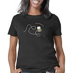 rightloopbee_CPDark Women's Classic T-Shirt