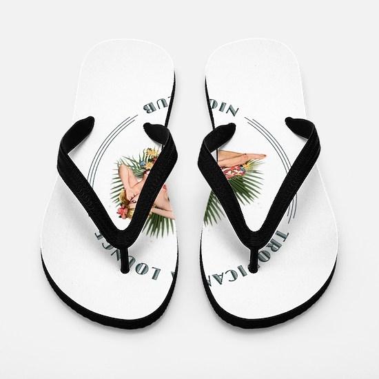 Tropicana Lounge Girl 2 Flip Flops